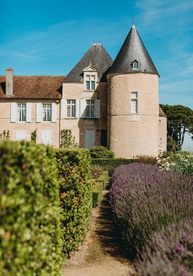 bordeaux wine castle